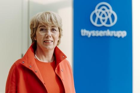 Martina Merz bleibt CEO der Thyssenkrupp AG in Essen (Foto: Rainer Kaysers)